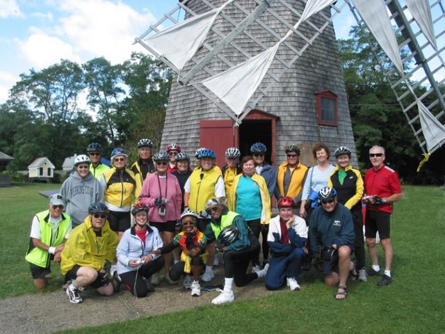 Bike Group at Windmill