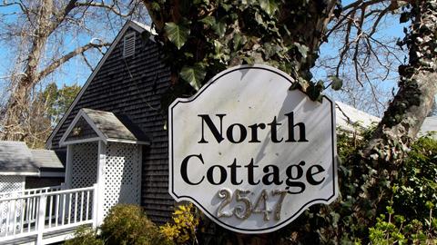 North Cottage sign
