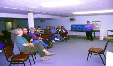Group in Media Room